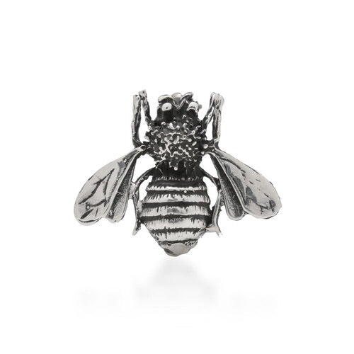Silver bee brooch - Sands Boutique clothing and gifts