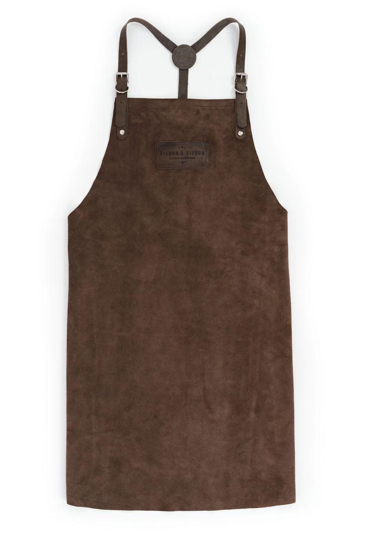 Suede & Full Grain Leather Apron