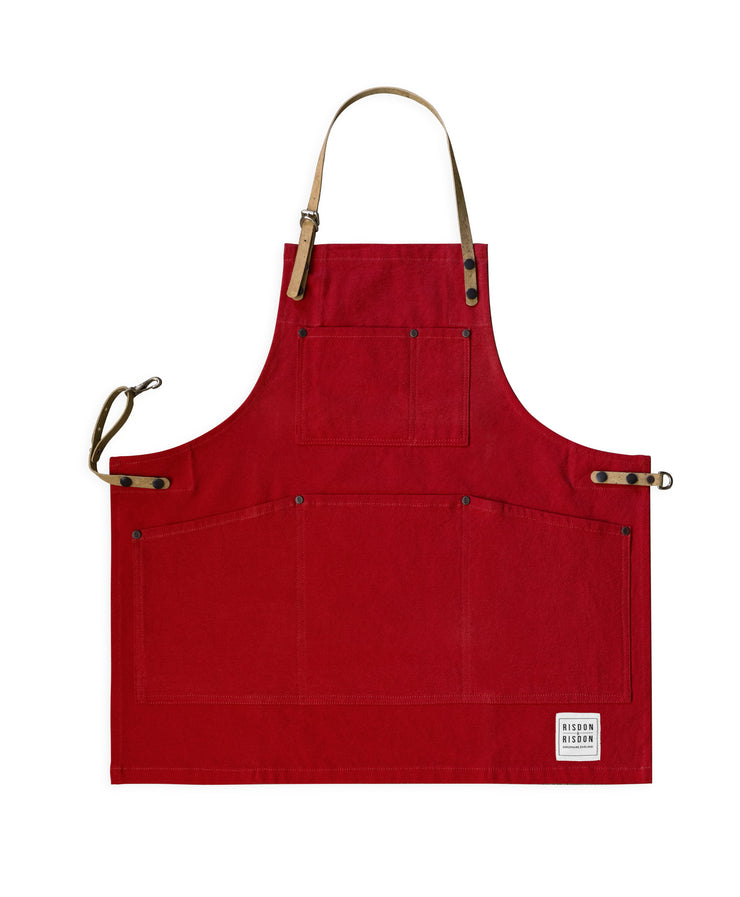 Children's Original Apron with Cork Straps - available in canvas or denim
