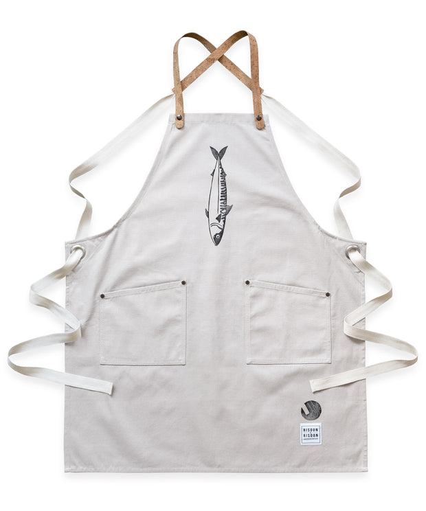Limited Edition Black Mackerel Studio Apron