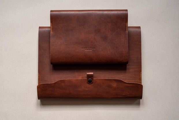 Leather Covered Notebook