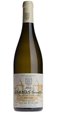 Chablis Grand Cru Les Clos, Domaine Gerard Duplessis 2013 - Organic-Wine-Hook & Ford Wine