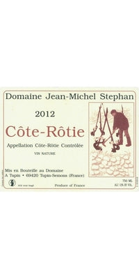 Cote Rotie, Jean-Michel Stephan 2015 - Natural Wine