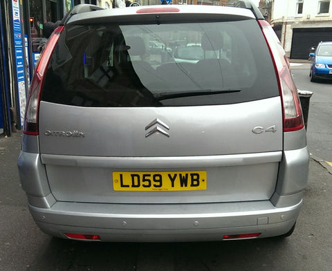 Citroen C4 grand picasso rear parking sensors