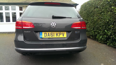 VW Passat Estate rear parking sensors - Steelmate PTSC1