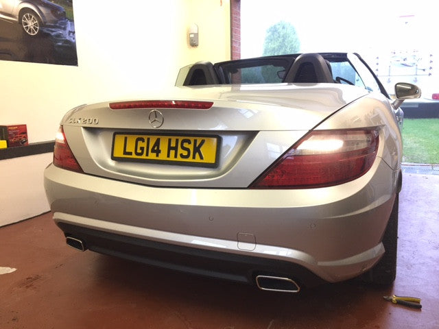 MERCEDES SLK PARKING SENSORS RETRO FIT