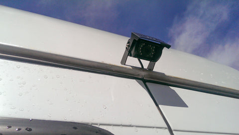 Body mount camera fitted to a Mercedes Sprinter Van