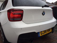 Steelmate flush fit parking sensors with mobile fitting