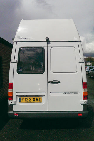Mercedes Sprinter Camper Van reverse camera fully fitted