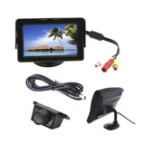 "4.3"" dash monitor with number plate camera"