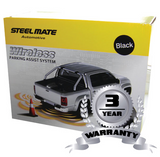 Steelmate PTS400-W1 wireless parking sensors with fitting