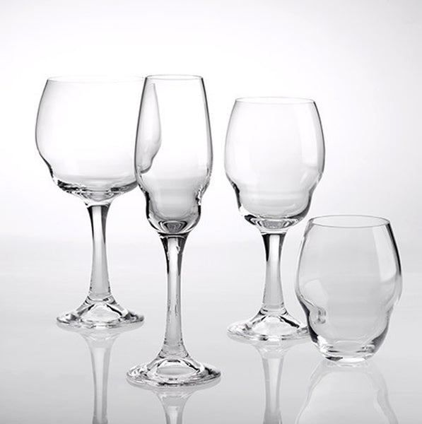 Heads Up flute glass