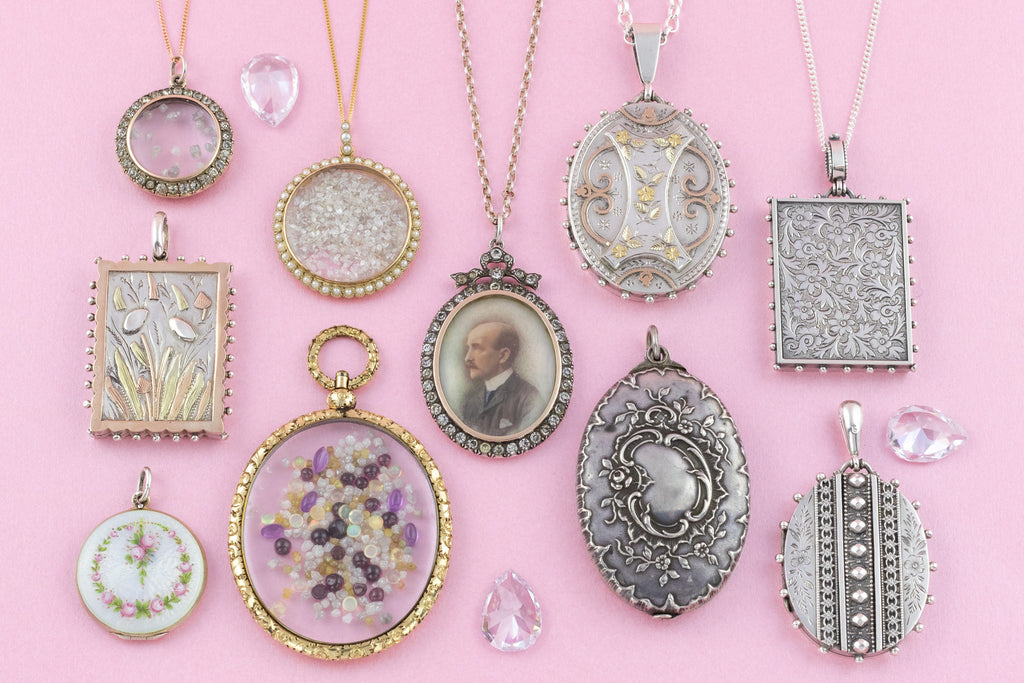 Vintage & Antique Lockets