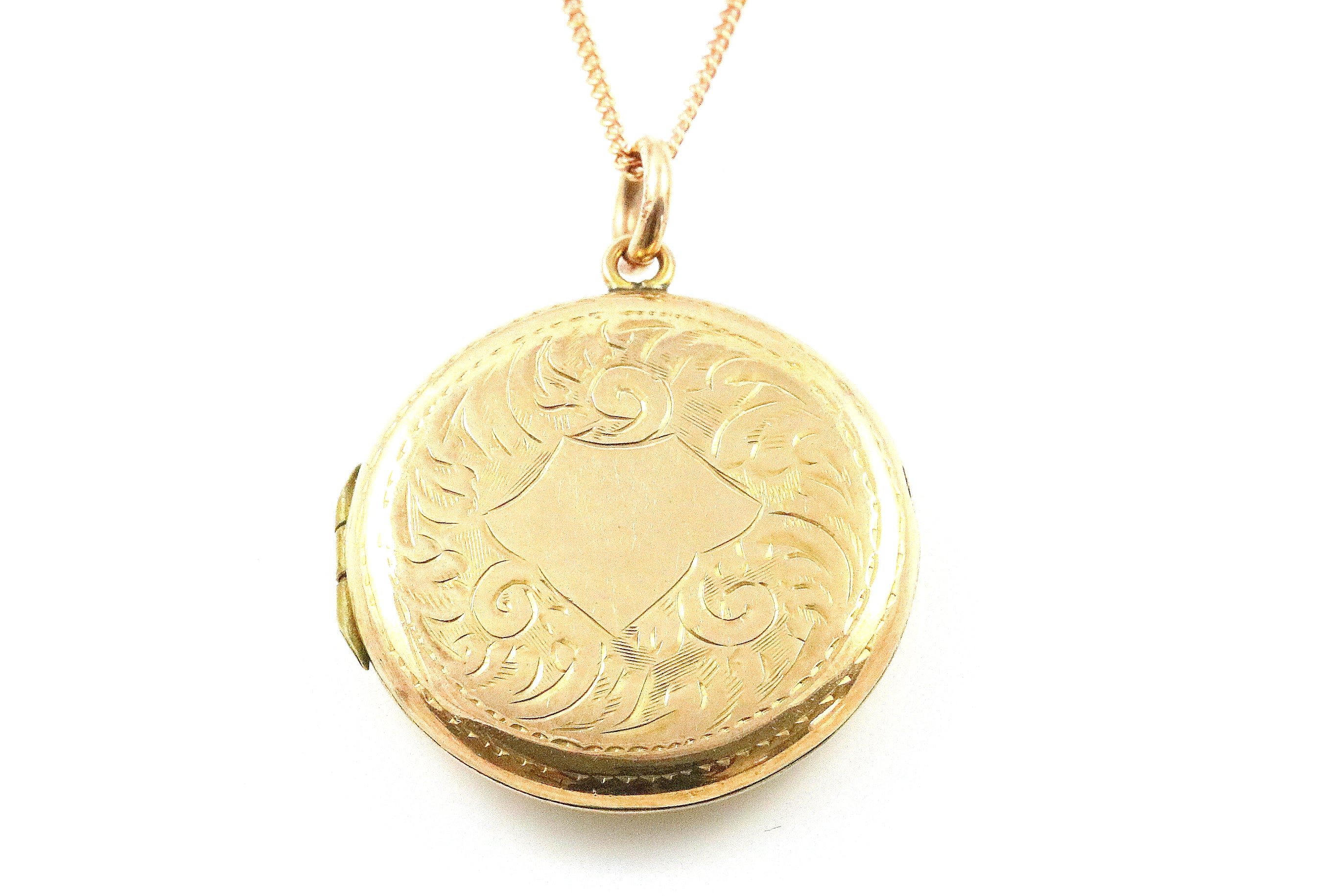 Sweet 9ct Rose Gold Vintage Locket