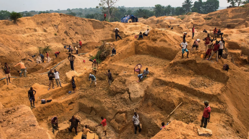 Diamond Mine Congo