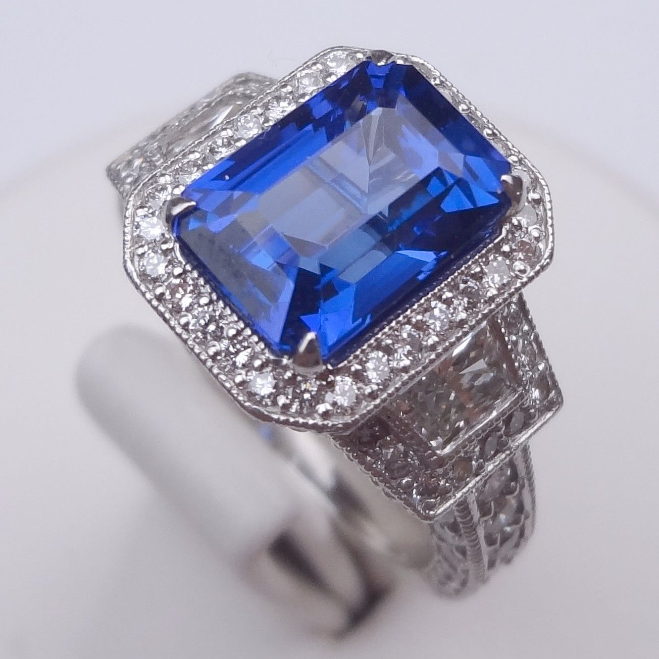 Antique Tanzanite ring
