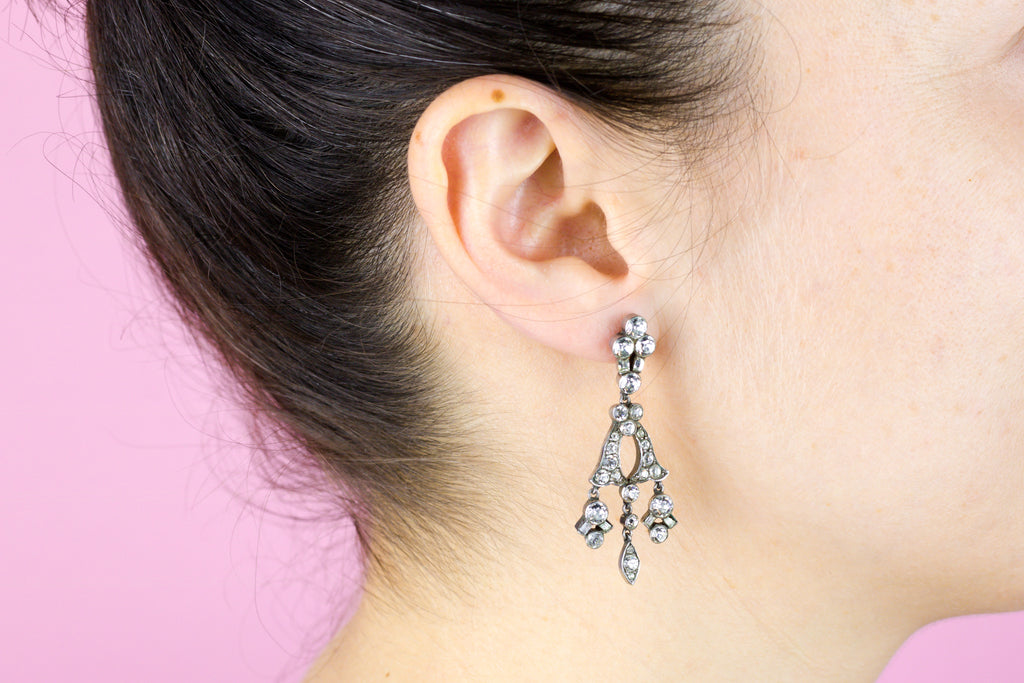 Victorian Paste Earrings