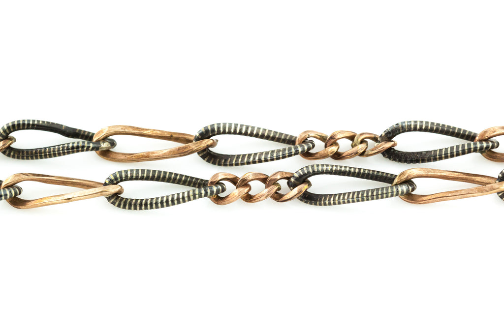 Antique Niello Chain - 16