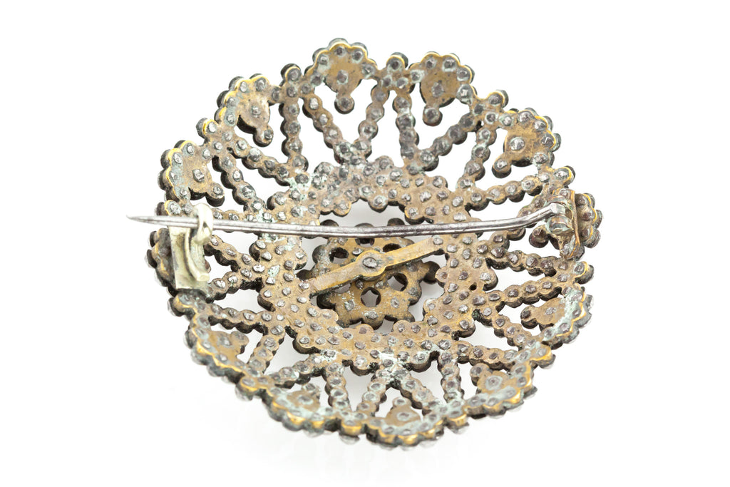 Georgian Cut Steel Brooch c.1800