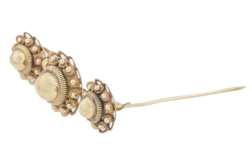 9ct Gold Victorian Revival Brooch