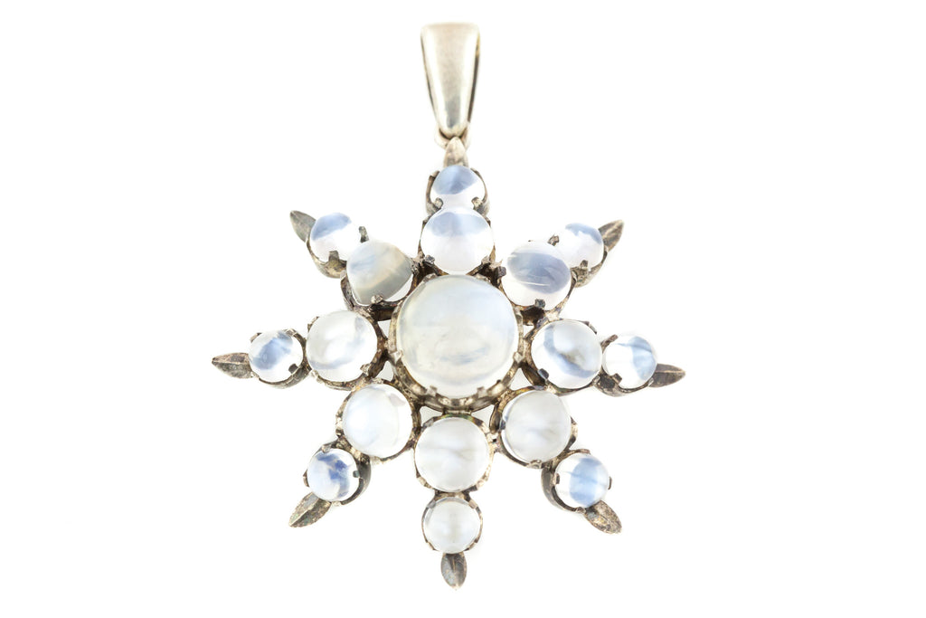 Large Moonstone Star Pendant c.1890