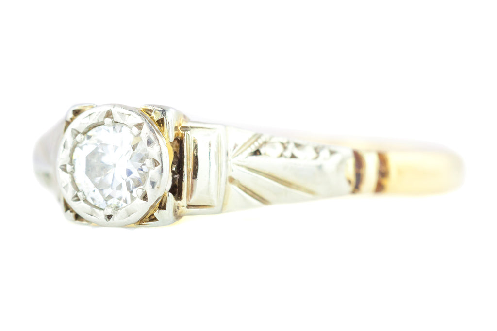 Art Deco Diamond Solitaire Ring c.1920