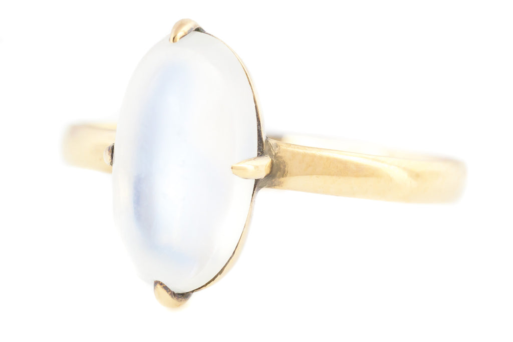 14ct Gold Antique Moonstone Ring (2.71ct)