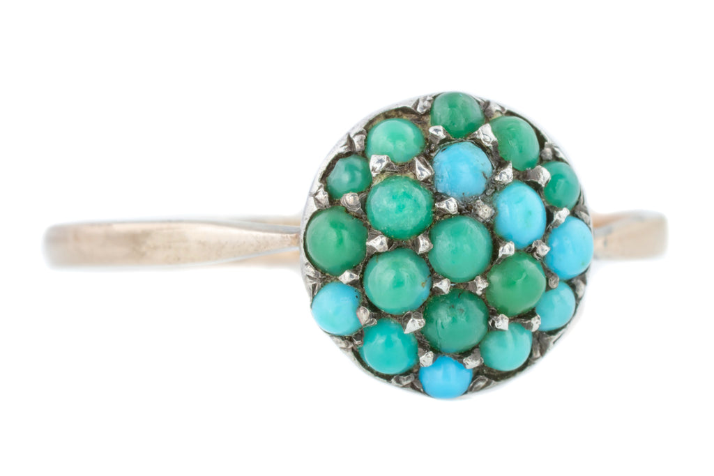 RESERVED FOR HEATHER! - Victorian Turquoise Ring