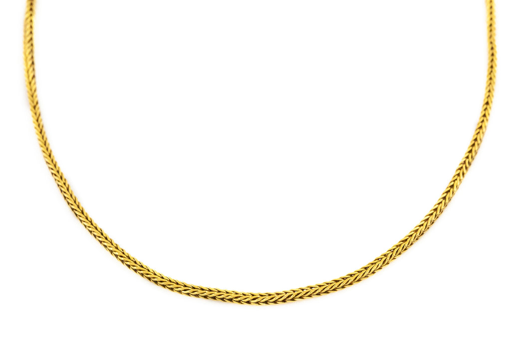 Vintage Italian 18ct Gold Chain