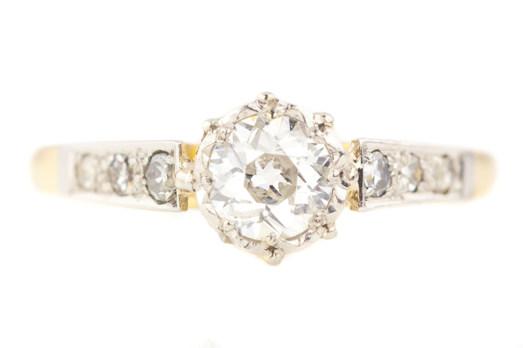 Antique Solitaire Diamond Ring (0.50ct)