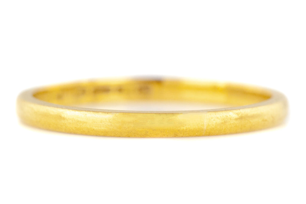 22ct Gold Wedding Band - 2mm