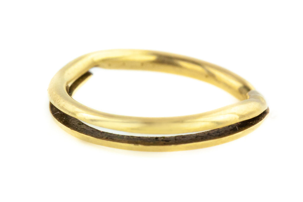 Victorian 9ct Gold Small Split Ring
