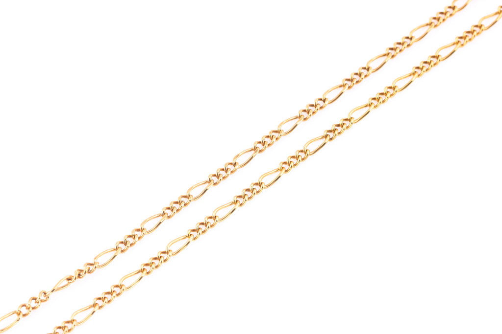 Victorian 9ct Rose Gold Chain c.1900