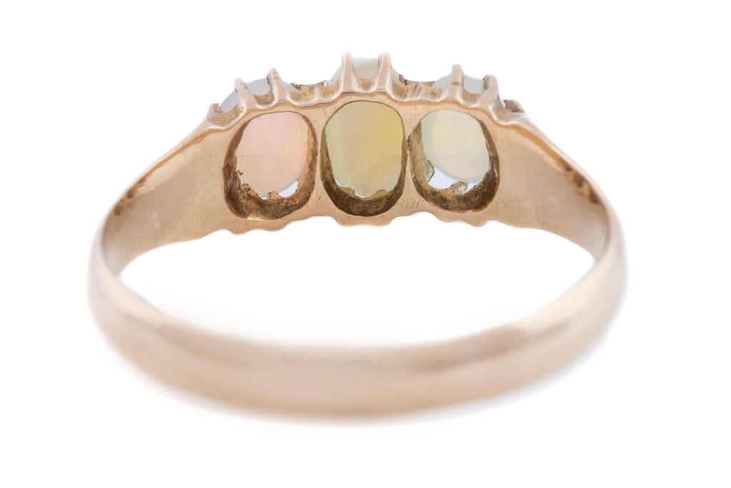 Victorian Opal Trilogy Ring