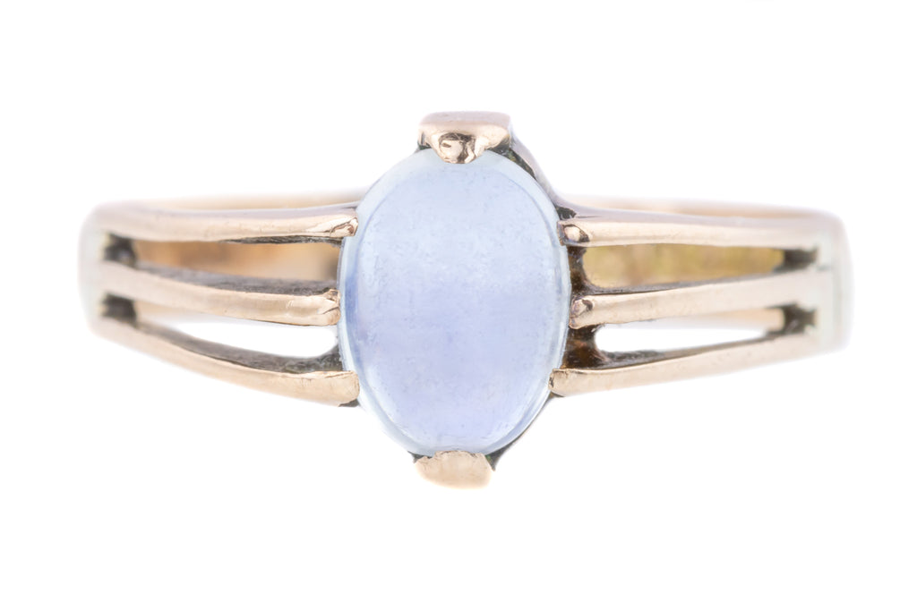 Edwardian Moonstone Solitaire Ring