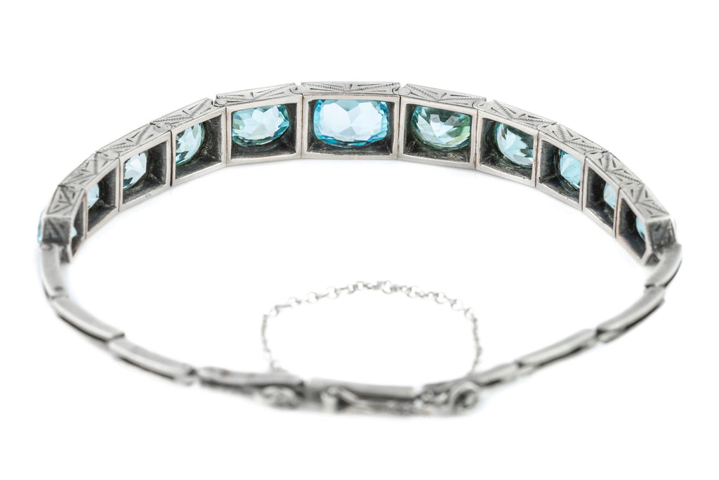 Art Deco Zircon Bracelet (12.46ct)