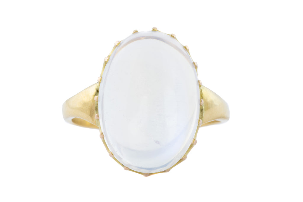 Antique 15ct Gold Moonstone Ring (5.50ct)