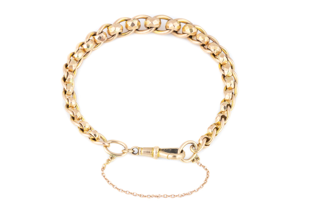 Victorian 9ct Rose Gold Bracelet