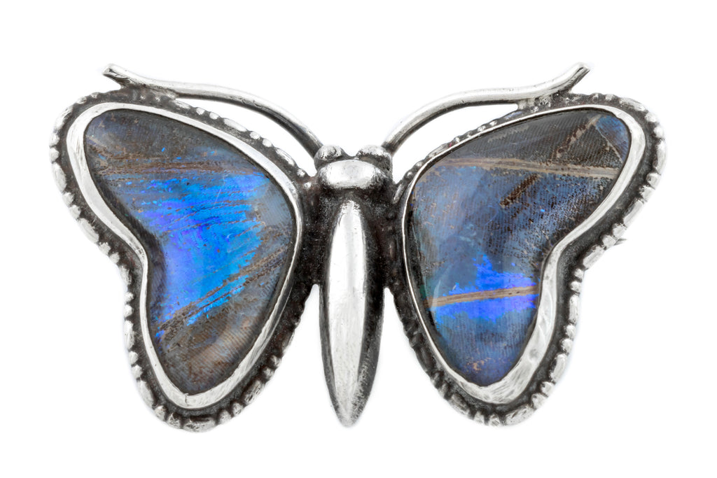 Art Deco Butterfly Wing Brooch
