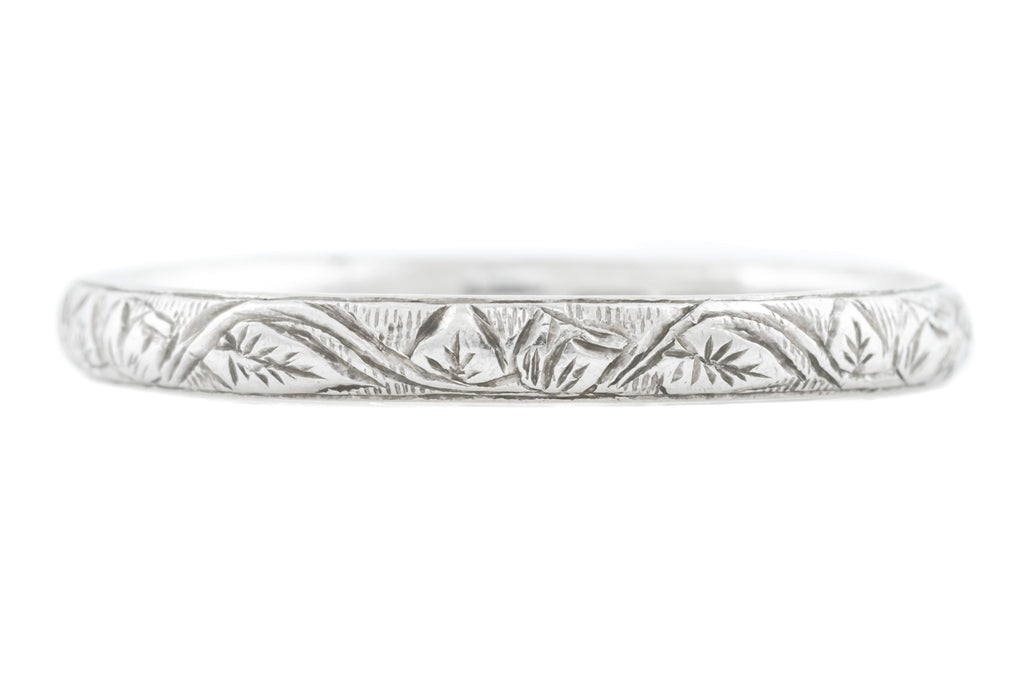 Art Deco Platinum Band