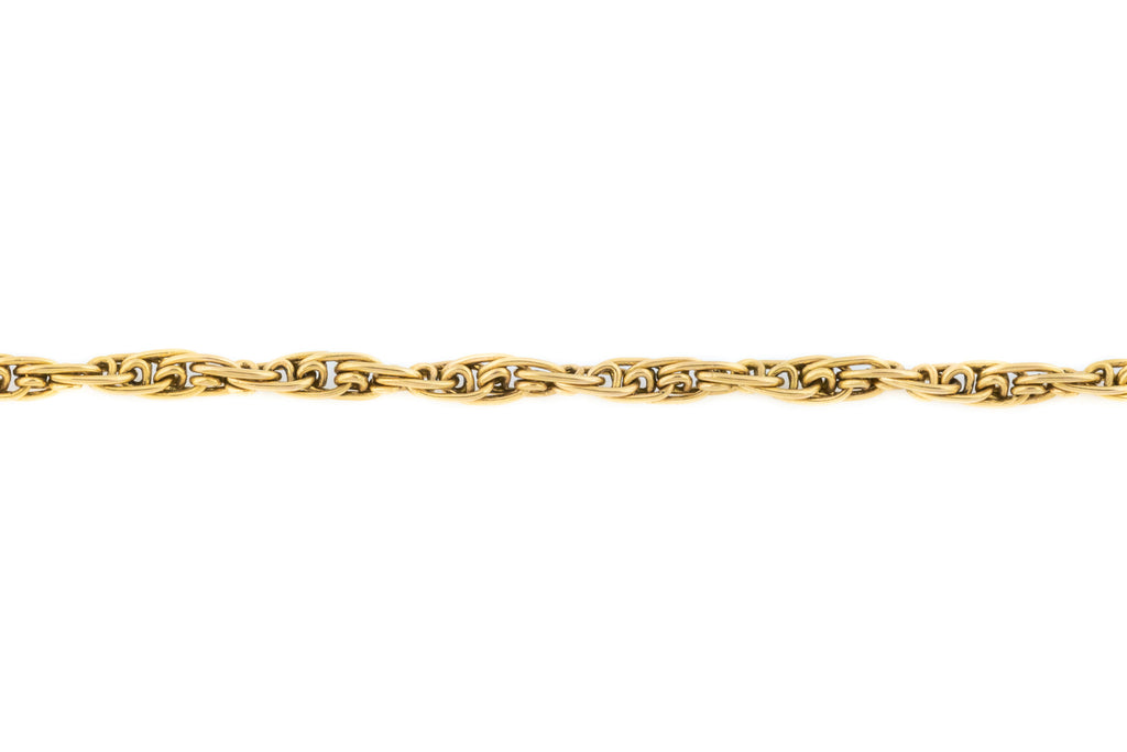 Victorian 18ct Gold Chain Necklace, 27""