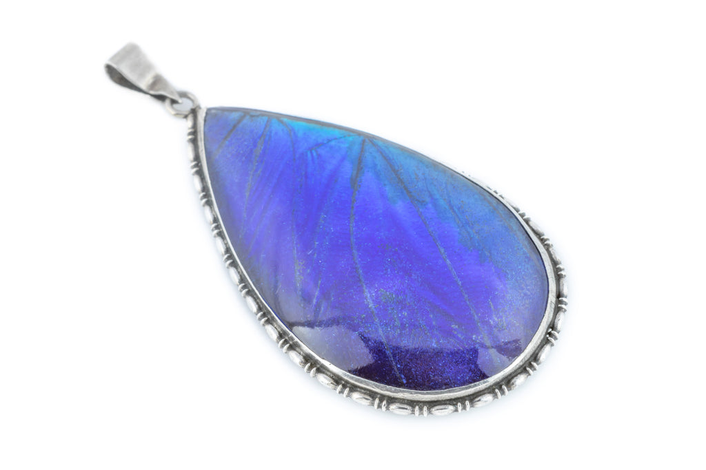 Art Deco Butterfly Wing Pendant