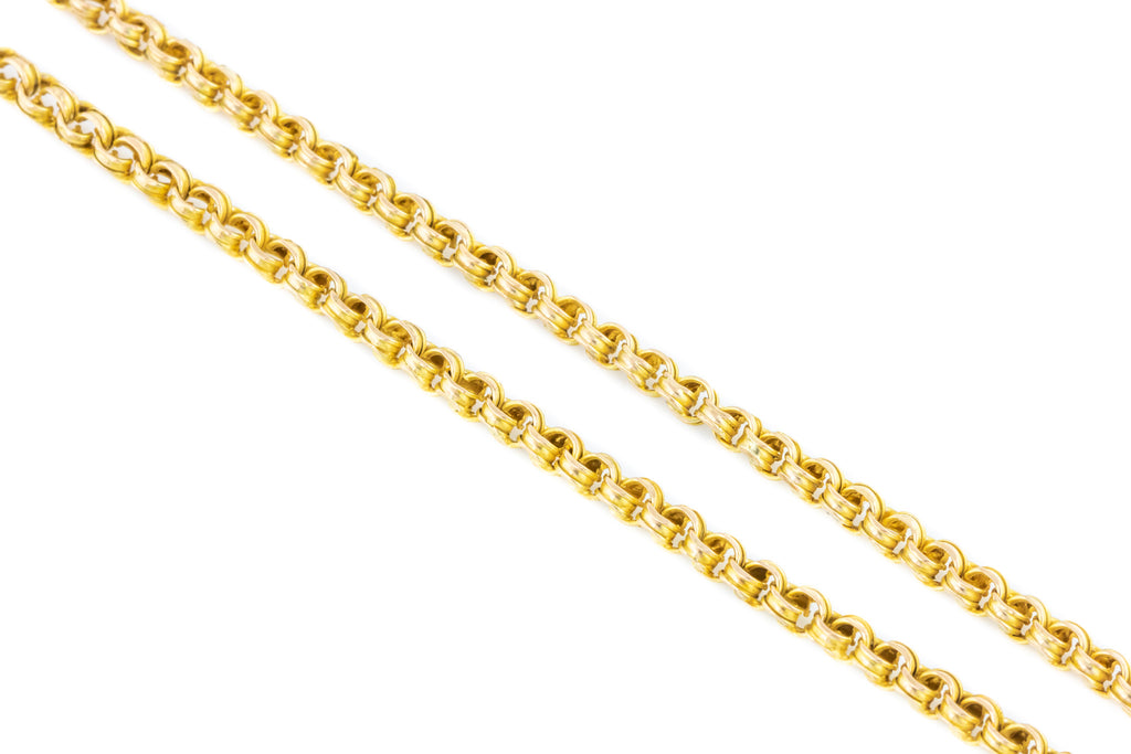 GIVEAWAY MARCH 2019! - 9ct Gold Belcher Chain, 18""