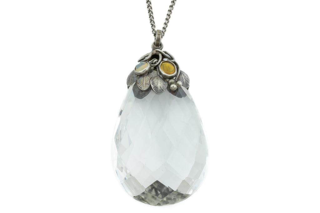 Arts and Crafts Era Rock Crystal Pendant (83.45ct)