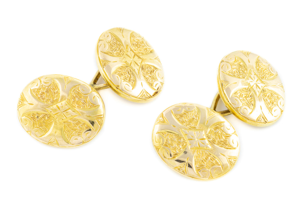 Antique 15ct Gold Cufflinks