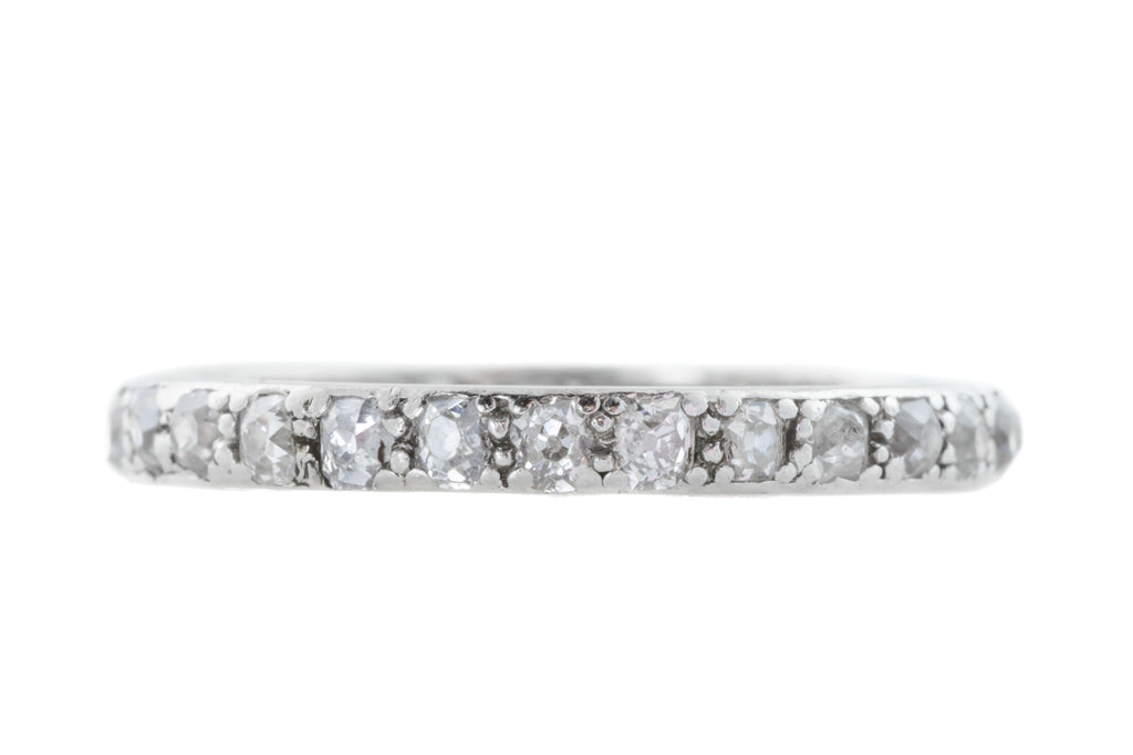 Art Deco Diamond Eternity Band (0.80ct)