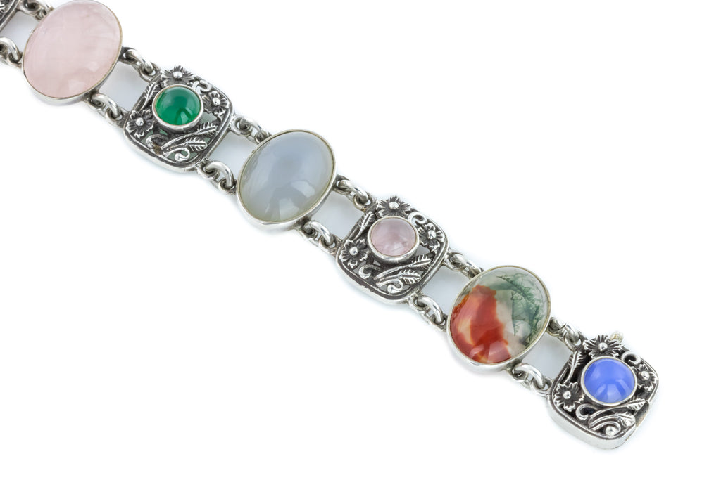 Arts and Crafts Era Silver Bracelet c.1917
