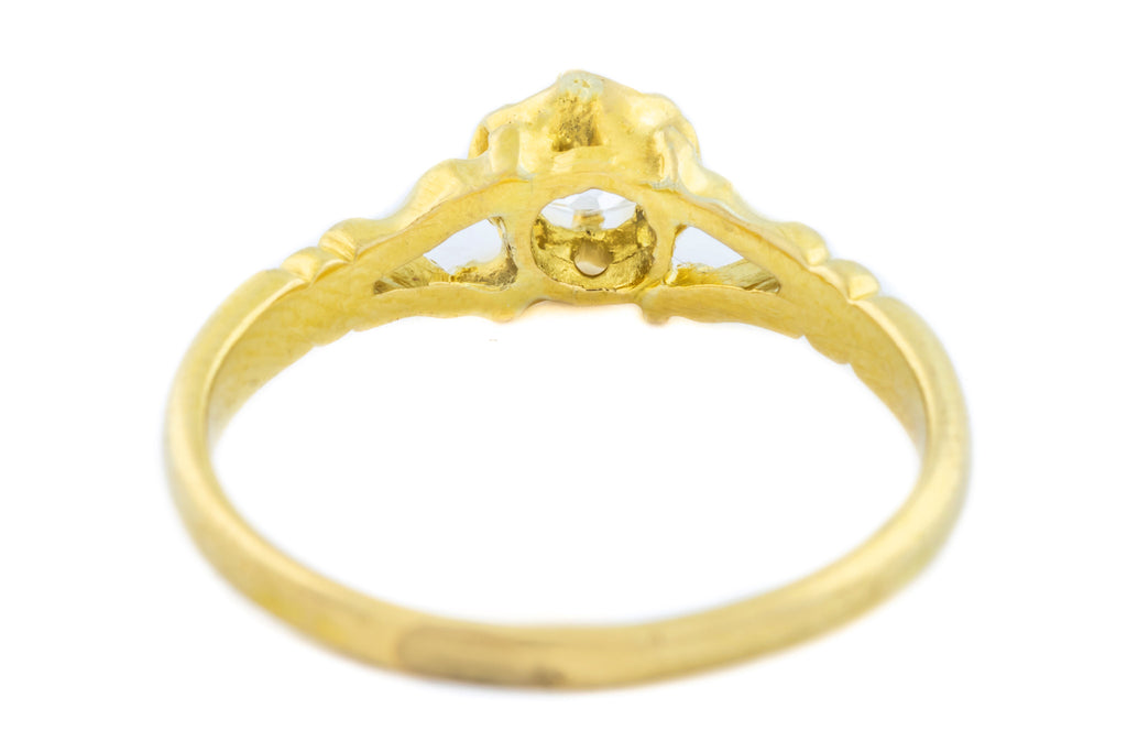 Victorian Diamond Solitaire Ring (0.25ct)