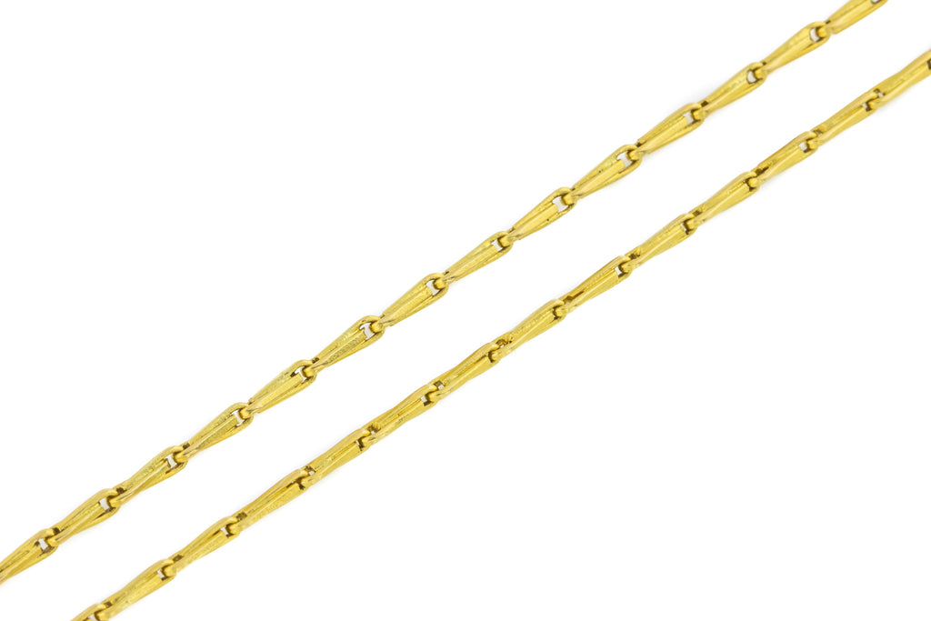 "Antique 22ct Gold Chain Necklace, 24"" (7.1g)"