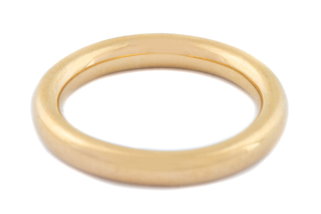 Vintage 18ct Gold Wedding Band c.1946
